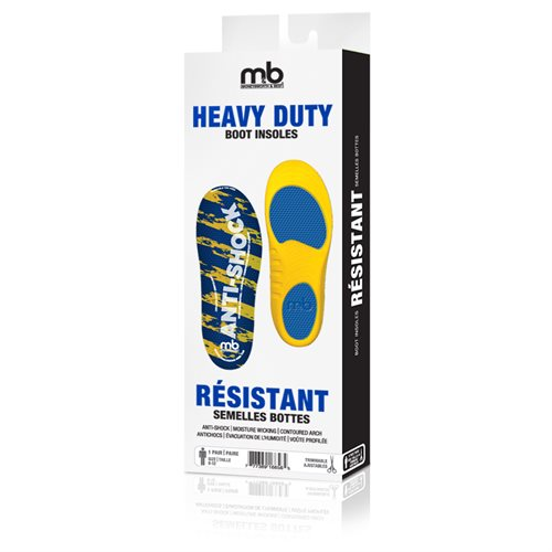 HEAVY DUTY BOOT INSOLES