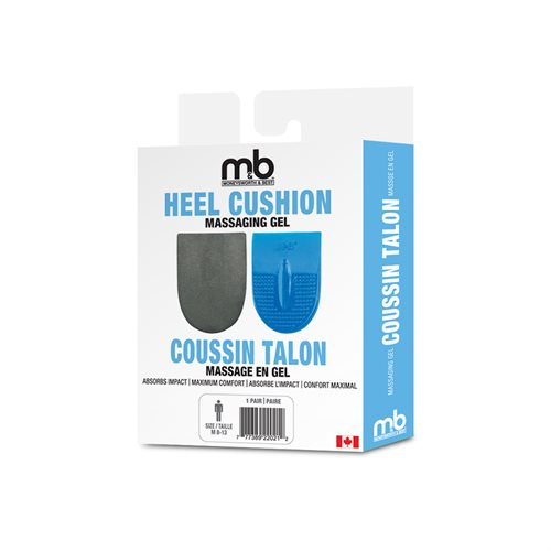 GEL HEEL CUSHION - ASSORTED SIZES