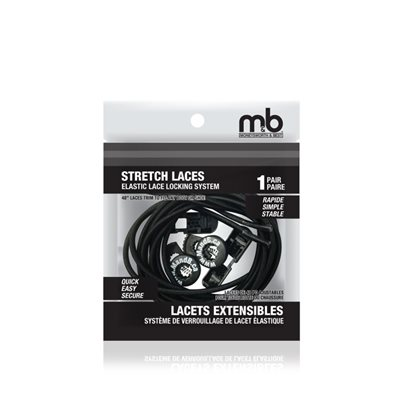 STRETCH LACES - ELASTIC LACE LOCKING SYSTEM