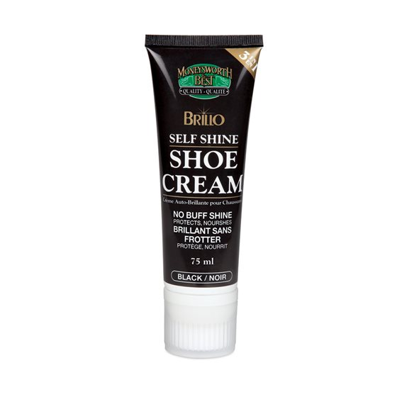 BRILLO™ SELF SHINE SHOE CREAM - ASSORTED COLOURS