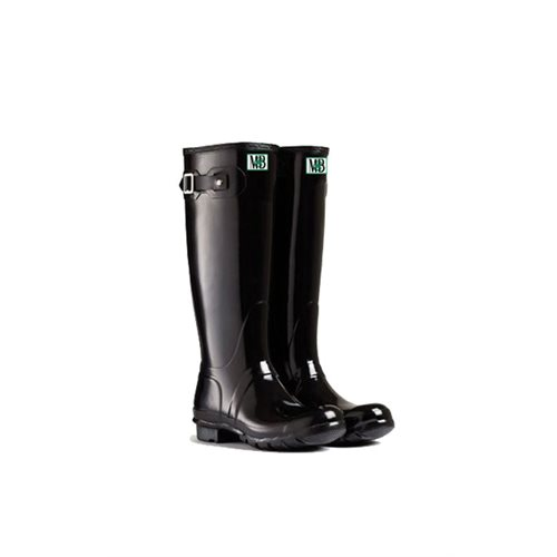 RUBBER BOOTS W LONG BLACK 5